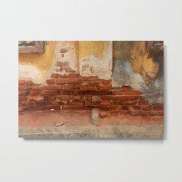 Broken old Wall Metal Print