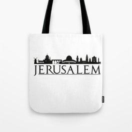 Jerusalem Israel Middle East Love Travel Tote Bag