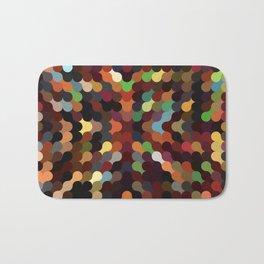 carly - vivid colourful playful modern abstract pattern Bath Mat