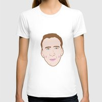 nicolas cage T-shirts featuring Nicole Cage by Ted Deacey