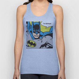 Superhero No. 30 Unisex Tank Top