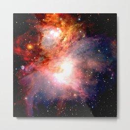 Space Nebula Metal Print