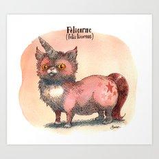 Felis Licornus Art Print