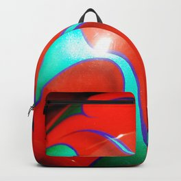 Flaming Red Hot Rod Backpack