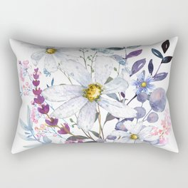 Wildflowers V Rectangular Pillow