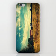 August drive III iPhone & iPod Skin