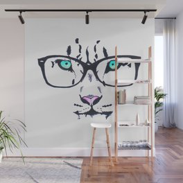 Hipster Tiger Wall Mural