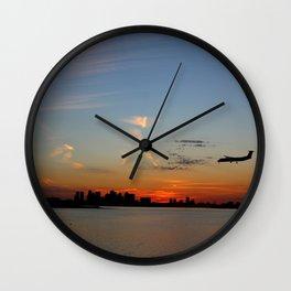 Boston Landing Wall Clock