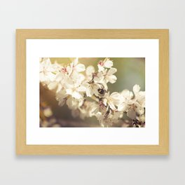 Working Bee Framed Art Print