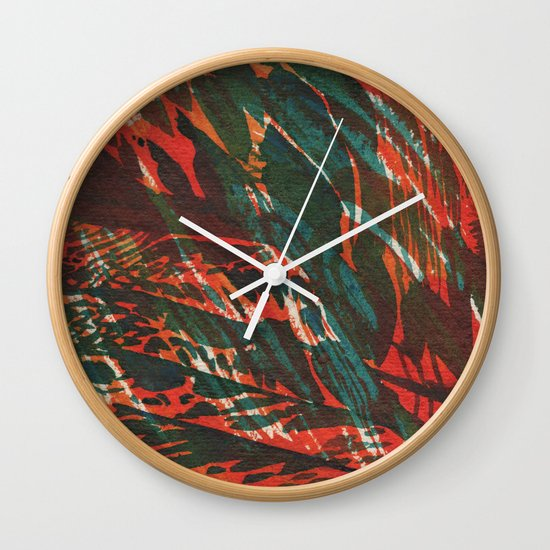 Summer 01 Wall Clock