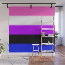 Genderfluid Pride Flag Wall Mural