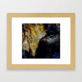 Blue Hymn Framed Art Print