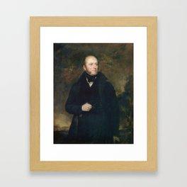 An English gentleman GORDON, SIR JOHN WATSON Framed Art Print