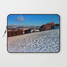 Hiking through winter wonderland II   landscape photography Laptop Sleeve