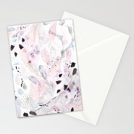 palindrome: abstract painting Stationery Cards