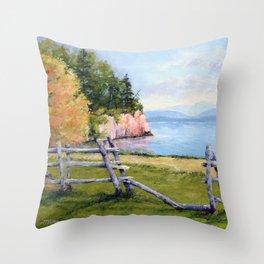 Shelburne Farms Throw Pillow