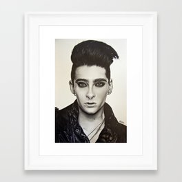 Bill Kaulitz Framed Art Print