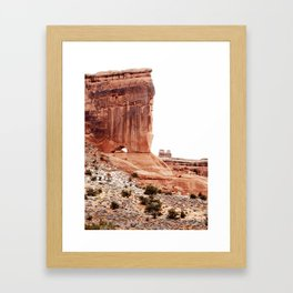 Window in the Cliff at Moab Framed Art Print