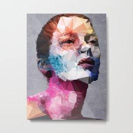 Massive Moment of Memory - Kubistika by Boris Draschoff Metal Print