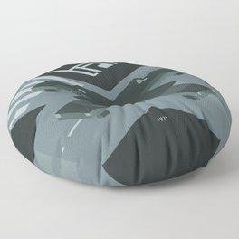 Trafic 1971 Floor Pillow