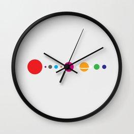solar system2 Wall Clock