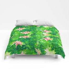 Monet's Garden Leggings Comforters