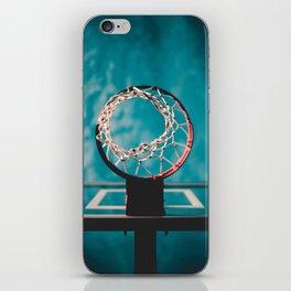 basketball hoop 6 iPhone Skin