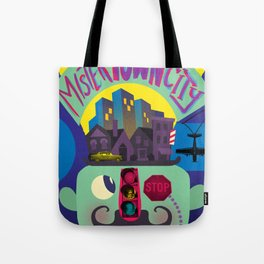 Mister Town City Tote Bag