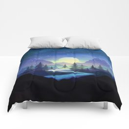 Touching the Stars Comforters