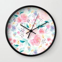 Indy Bloom Design Mermaid Lagoon Wall Clock