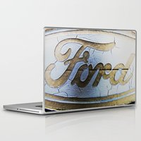 ford Laptop & iPad Skins featuring Ford by Sarah Welch