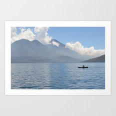 Lake Atitlan in Guatemala Art Print