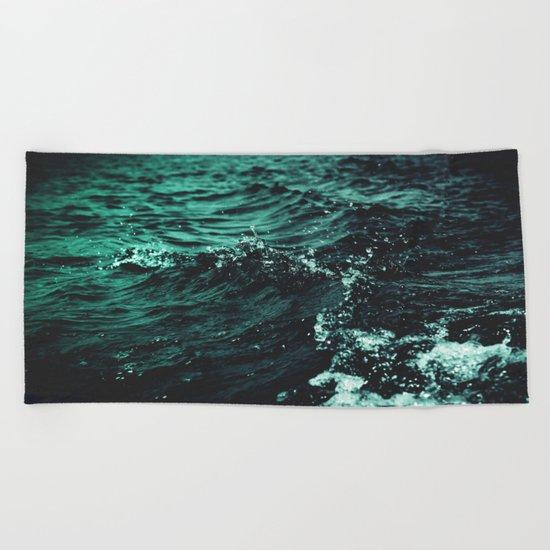 Still Beating Beach Towel