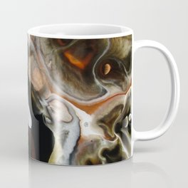 Janus - God of Beginnings, transitions, and duality - Original Abstract Painting Coffee Mug