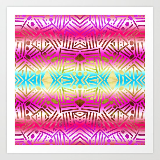 Bali Art Print