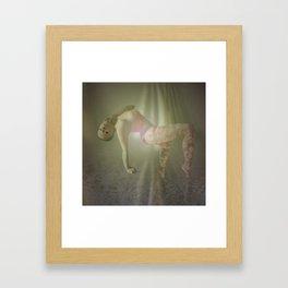 Lunar Pull Framed Art Print