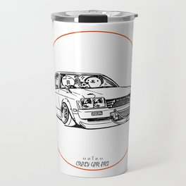 Crazy Car Art 0208 Travel Mug