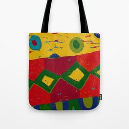 Reduction in colour Tote Bag