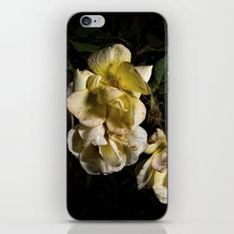 Wilted flowers iPhone Skin