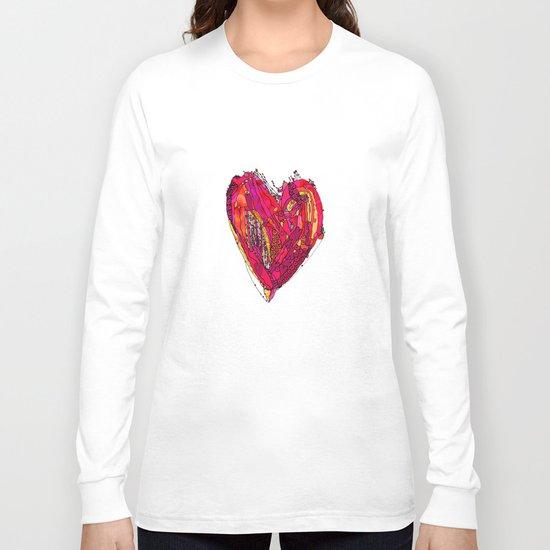 Funky Heart Long Sleeve T-shirt