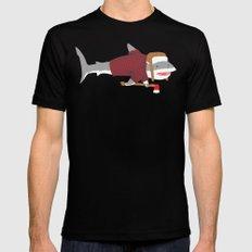 Shark LumberJack Mens Fitted Tee LARGE Black