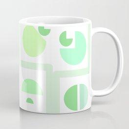 Mid century green Coffee Mug