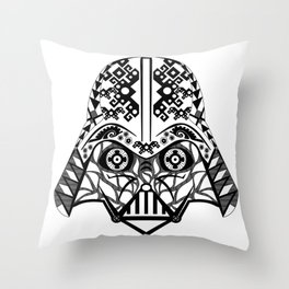Mr. Vader Throw Pillow