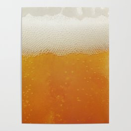 Beer Bubbles Poster