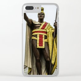 King Kamehameha Clear iPhone Case