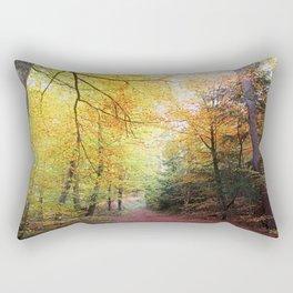MM - Autumnally forest path Rectangular Pillow