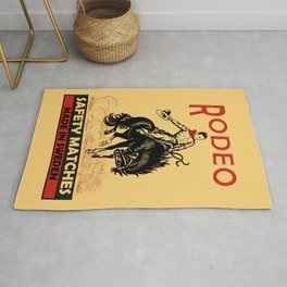 The Vintage Rodeo Safety Matches Rug