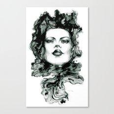 Muon Canvas Print