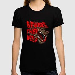 Beware The Wolf T-shirt