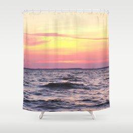 Bay Sunset Shower Curtain